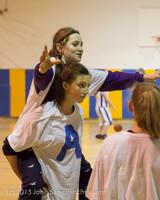 6091 McM Girls Varsity Basketball Mustangs Spirit 2013
