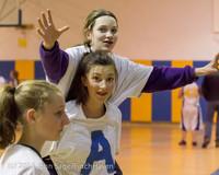 6095 McM Girls Varsity Basketball Mustangs Spirit 2013