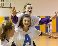 6099 McM Girls Varsity Basketball Mustangs Spirit 2013