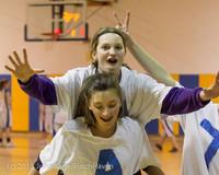 6107 McM Girls Varsity Basketball Mustangs Spirit 2013