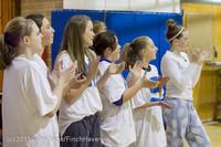 6122 McM Girls Varsity Basketball Mustangs Spirit 2013