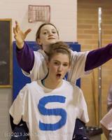 6161 McM Girls Varsity Basketball Mustangs Spirit 2013