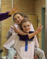 6163 McM Girls Varsity Basketball Mustangs Spirit 2013