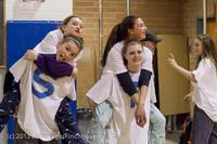 6169 McM Girls Varsity Basketball Mustangs Spirit 2013