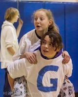 6175 McM Girls Varsity Basketball Mustangs Spirit 2013