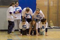 6179 McM Girls Varsity Basketball Mustangs Spirit 2013