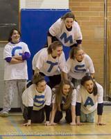 6186 McM Girls Varsity Basketball Mustangs Spirit 2013