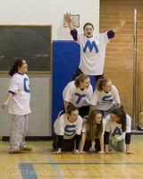 6214 McM Girls Varsity Basketball Mustangs Spirit 2013
