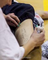 6559 McM Girls Varsity Basketball Mustangs Spirit 2013