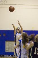 19949 Girls Varsity Basketball v Klahowya 031912