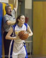 20125 Girls Varsity Basketball v Klahowya 031912