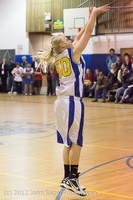 20319 Girls Varsity Basketball v Klahowya 031912