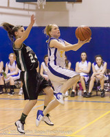 20706 Girls Varsity Basketball v Klahowya 031912