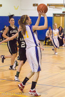 20719 Girls Varsity Basketball v Klahowya 031912