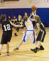 20945 Girls Varsity Basketball v Klahowya 031912