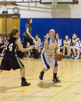 20950 Girls Varsity Basketball v Klahowya 031912
