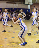 21233 Girls Varsity Basketball v Klahowya 031912