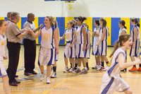 21415 Girls Varsity Basketball v Klahowya 031912
